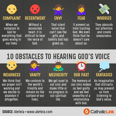 10 Obstacles to Hearing God's Voice and How to Start Listening!