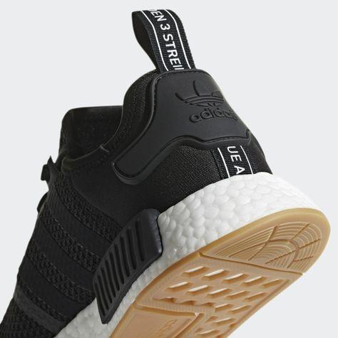Nmd R1 Shoes Black Mens Shoes Black Shoes Black Adidas