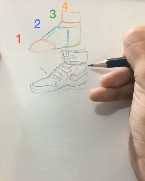 Best 9 #draw #shoes #quick #sketch #pencil