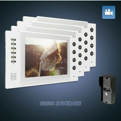 Ebay Sponsored Homsecur 8 Filaire Systeme Interphone Video Appel Serrure Electrique Supportee Serrure Electrique Interphone Et Serrure