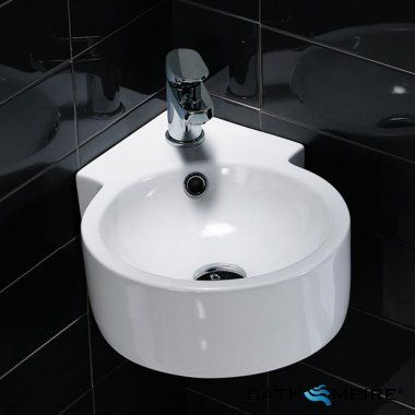 Small Cloakroom Corner Basin Wash Basin Carat Bathempire Small Bathroom Small Toilet Downstairs Toilet