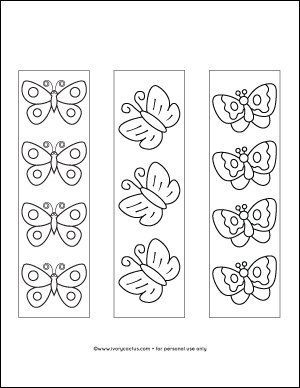 Butterfly Printable Bookmarks Coloring Bookmarks Butterfly Bookmarks Butterfly Coloring Page