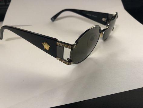 5f9ee80c82d GIANNI VERSACE Vintage Men s Sunglass Mod.S60 Col.91M Gold Medusa Head Oval  Lens  fashion  clothing  shoes  accessories  vintage  vintageaccessories  (ebay ...