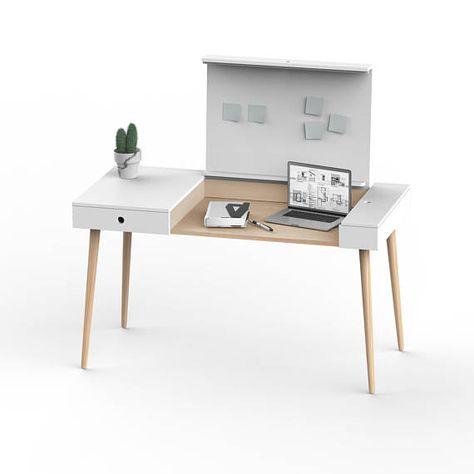 Work Desk Homework Writing Desk Mid Century Desk Modern Desk