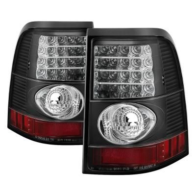 Spyder Auto Ford Explorer 4dr Except Sport Trac 02 05 Led Tail Lights Black 5002952 The Home Depot Led Tail Lights Car Ford Spyder Auto