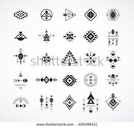 Geometric Tattoo - Esoteric, Alchemy, boho, bohemian sacred geometry, tribal and Aztec, sacred geom... - TattooViral.com | Your Number One source for daily Tattoo designs, Ideas & Inspiration