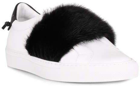 950988d19403 Givenchy BE09192161 Urban street low sneaker white black mink ...