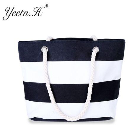 f8b78d226c 2017 New Arrival High Quality Women s Top-Handle Bag Canvas Handbags Fashion  Large Beach Bags Shoulder Bag Free Shopping M9542