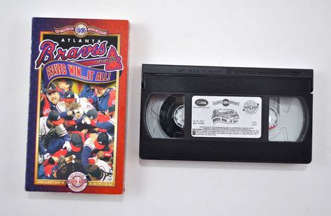 Atlanta Braves Win It All 1995 World Series Champs VHS RARE Movie Opp Video for sale online | eBay