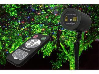 Laserworld Gs 100rgb Move Gartenlaser Ip67 Garten Laser Lichtpunkt Licht