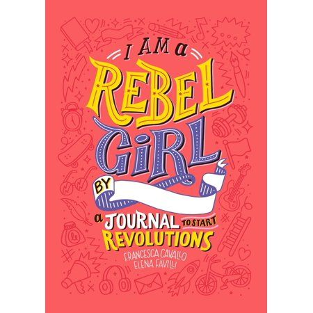 An irresistible interactive journal from the creators of Good Night Stories for Rebel Girls, designed to encourage readers of all ages to explore their rebel spirits! I Am a Rebel Girl: A Journal to Start Revolutions is filled with activities that challenge perspective, inspire thought, and prompt action. Readers can write love notes to their favorite body parts, draw themselves climbing a mountain, write a letter to an elected representative, and interact with the beautiful, original artwork th