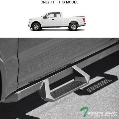 15-18 fit Ford F-150 Extended Cab Hoop Drop Running Boards Nerf Bars Side Steps