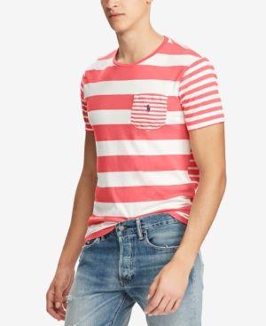 Polo Ralph Lauren Men's Classic Fit Striped T Shirt