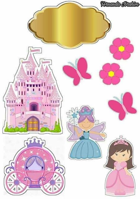 Fairy Tale Free Printable Cake Toppers Disney Princess Cake Topper Princess Cake Toppers Cake Toppers