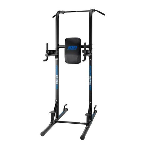 Ion Fitness Chaise Romaine Poignee Ample Stable Fi510 Power Tower