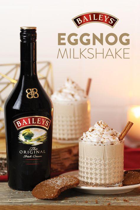Baileys Eggnog Milkshake