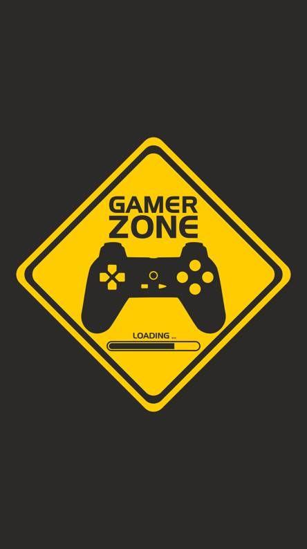 Gamer Zone Kertas Dinding Ilustrasi Poster Manipulasi Foto