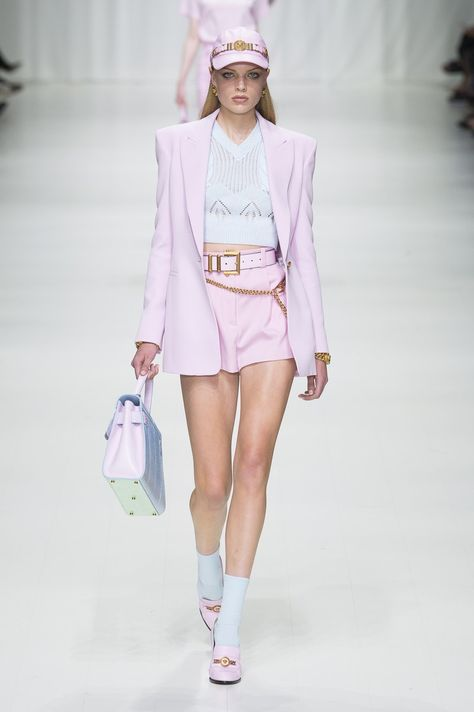 Versace   Ready-to-Wear - Spring 2018   Look 49