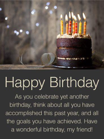 Pin By Shweta Kumar On Birthday Happy Birthday Male Friend