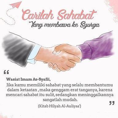Carilah Sahabat Yang Membawa Ke Surga Sahabat Islam Sahabat