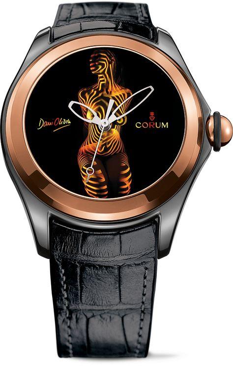 La Cote des Montres : La montre Corum Heritage Bubble Dani Olivier - Nus…