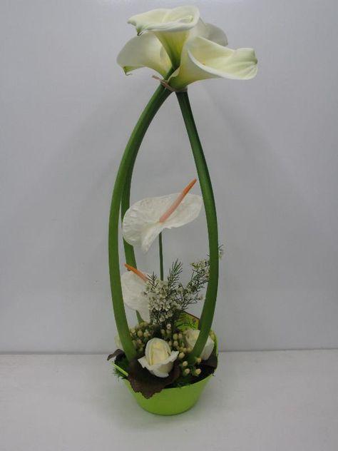 composition en hauteur - Vente de fleurs à Nancy, livraison de fleurs ...