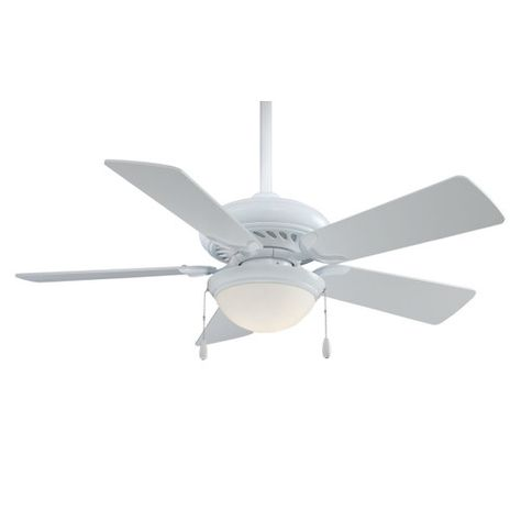 "Minka Aire 44"" Supra 5 Blade Ceiling Fan $194 is it bright enough and big enough at 44"""