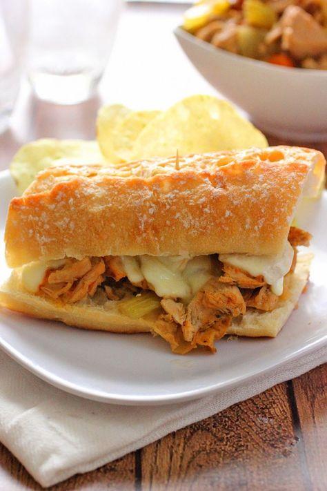 Slow Cooker Turkey French Dip Sandwiches - Brown Sugar