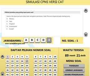Gratis Download Aplikasi Latihan Soal Tes Cpns Sistem Cat Scan Belajar Ilmu Sosial Pengetahuan