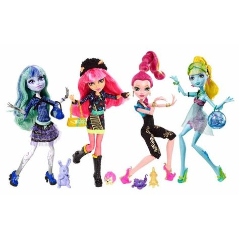 "Top #Christmas Toy: #Monster High 13 Wishes #Dolls Get ready to queue up – since Monster High dolls are a top Christmas toy for 2013 that have been predicted to sell out, you may find yourself ""wishing"" you had bought these dolls sooner."