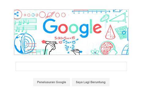 Google Ikut Peringati Hari Guru Nasional Lewat Doodle Dengan Gambar Guru Sejarah Internet