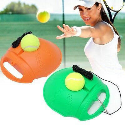 Advertisement Ebay Pro Single Tennis Trainer Training Tool Practice Rebound Balls Back Base 3 Ball In 2020 Training Tools Rebounding Tennis Trainer