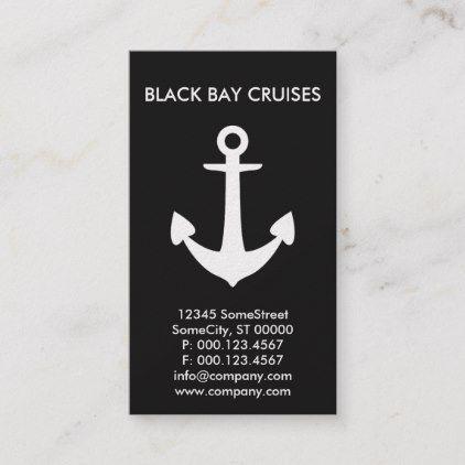 Custom Boat Anchor Company Business Card Zazzle Com Company Business Cards Boat Anchor Custom