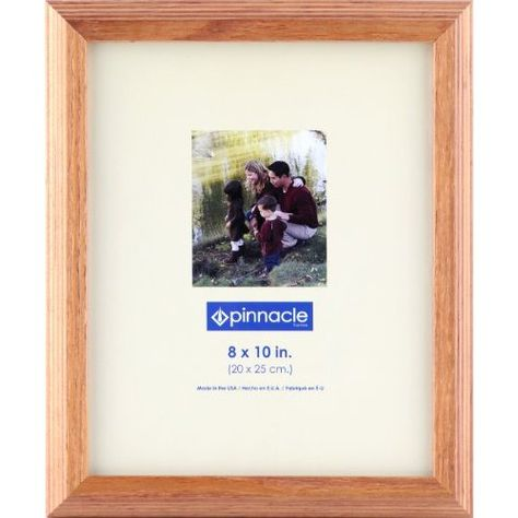 Pinnacle Frames Natural Step Wood Frame, 8 inch by 10 inch $13.59 ...
