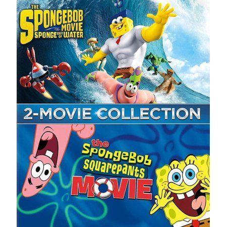 The Spongebob Squarepants Movie The Spongebob Movie Sponge Out Ofwater Blu Ray In 2020 Movie Collection Movies Spongebob