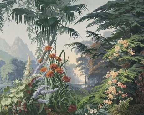 Eden 1861 Nature Paintings English Wallpaper Painting Wallpaper