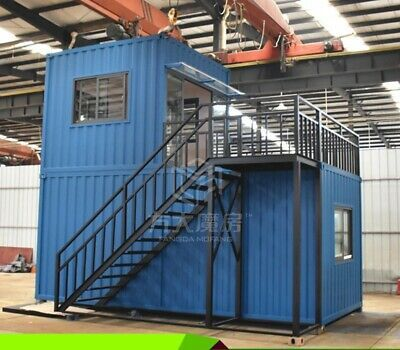 Find Many Great New Used Options And Get The Best Deals For New 20ft Detachable Double Deck Container Hou Container House Prefab Homes Container House Design