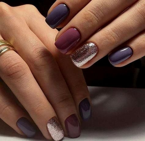 30 Nails Designs Inspirations In 2020 Nail Colors Winter Winter Nails Colors 2019 Neutral Nail Art Designs