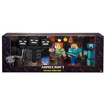 Amazon com: Minecraft Wither Warfare Multipack: Toys & Games
