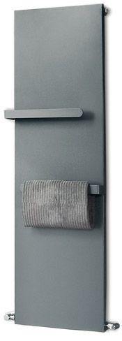 Bathroom radiator makes a great towel and robe warmer IF it had hooks instead of bars.