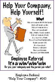 employee referral poster