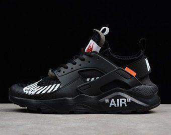inteligencia poco claro Red  Custom Off-White Nike Huarache Ultra's | Etsy | Nike air huarache ultra,  Running shoes for men, Nike air huarache