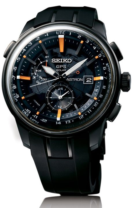 Seiko has been putting serious resources into the success of their Seiko Astron GPS Solar watch collection that they debuted about two years ago. Best Watches For Men, Luxury Watches For Men, Male Watches, Popular Watches, Mens Designer Watches, Black Watches, Stylish Watches, Cool Watches, Casual Watches