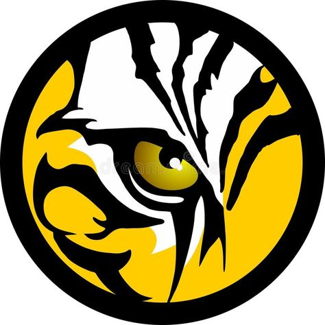 Tiger Eye stock vector. Illustration of firmnesse, shamanism - 33465543