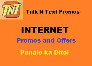 Talk N Talk (TNT) Prepaid Internet Promo and Offers