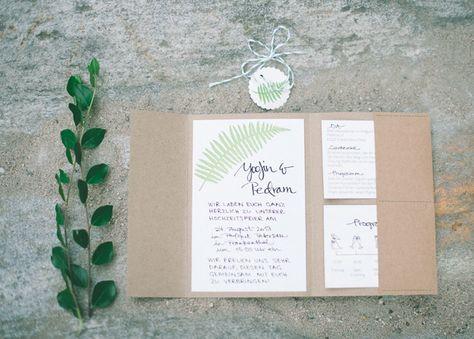 DIY Hochzeitseinladung mit Stempel4