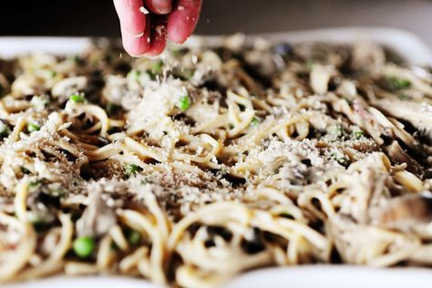 Turkey Tetrazzini from The Pioneer Woman - can't wait to try this.  I haven't found a turkey tetrazzini recipe I like yet.
