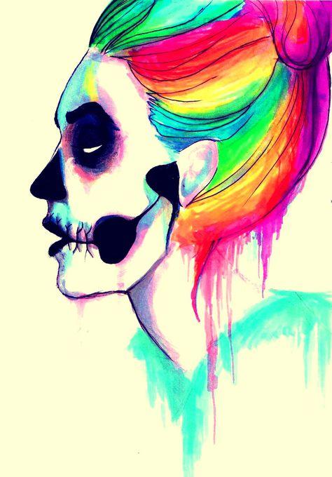 Mystery skulls - ghost by JayJayRey on DeviantArt