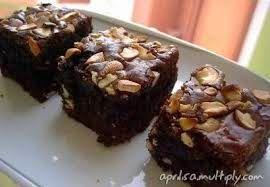Resep Brownies Panggang Coklat Kacang Mete Gurih Kacang Mete Resep Kacang