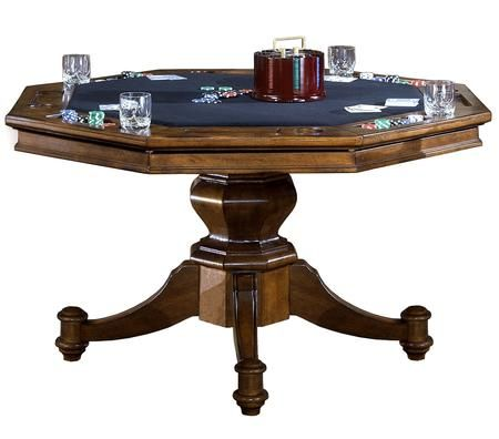 6060gtb Nassau 52 Round Game Table With Reversible Top Black Felt